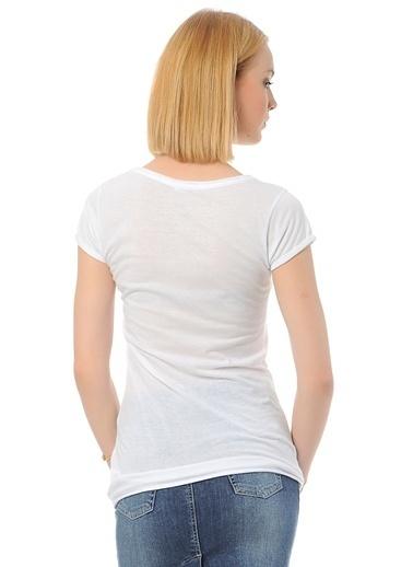Loox Tişört Beyaz